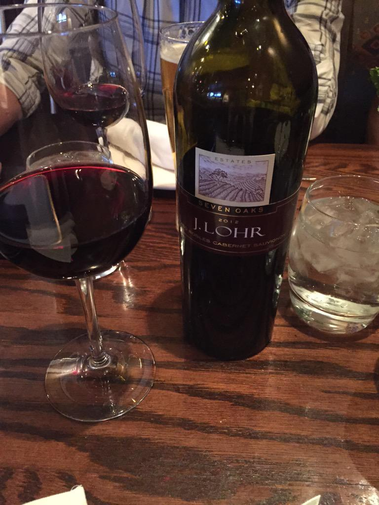 Twitter post: RT @julierbs: It must be Friday! @JLohrWines @TheKeg…Read more. Opens full post in an overlay