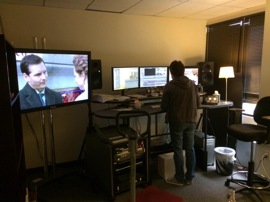 RT @zonker35: Last day of editing on season 1! Went by quickly very slowly. But oh so satisfying #AmericanOdyssey @AdamArmus http://t.co/Xi…