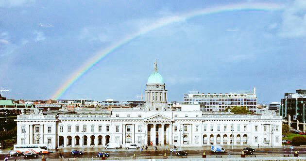 Proud to be Irish today. Ireland said yes!