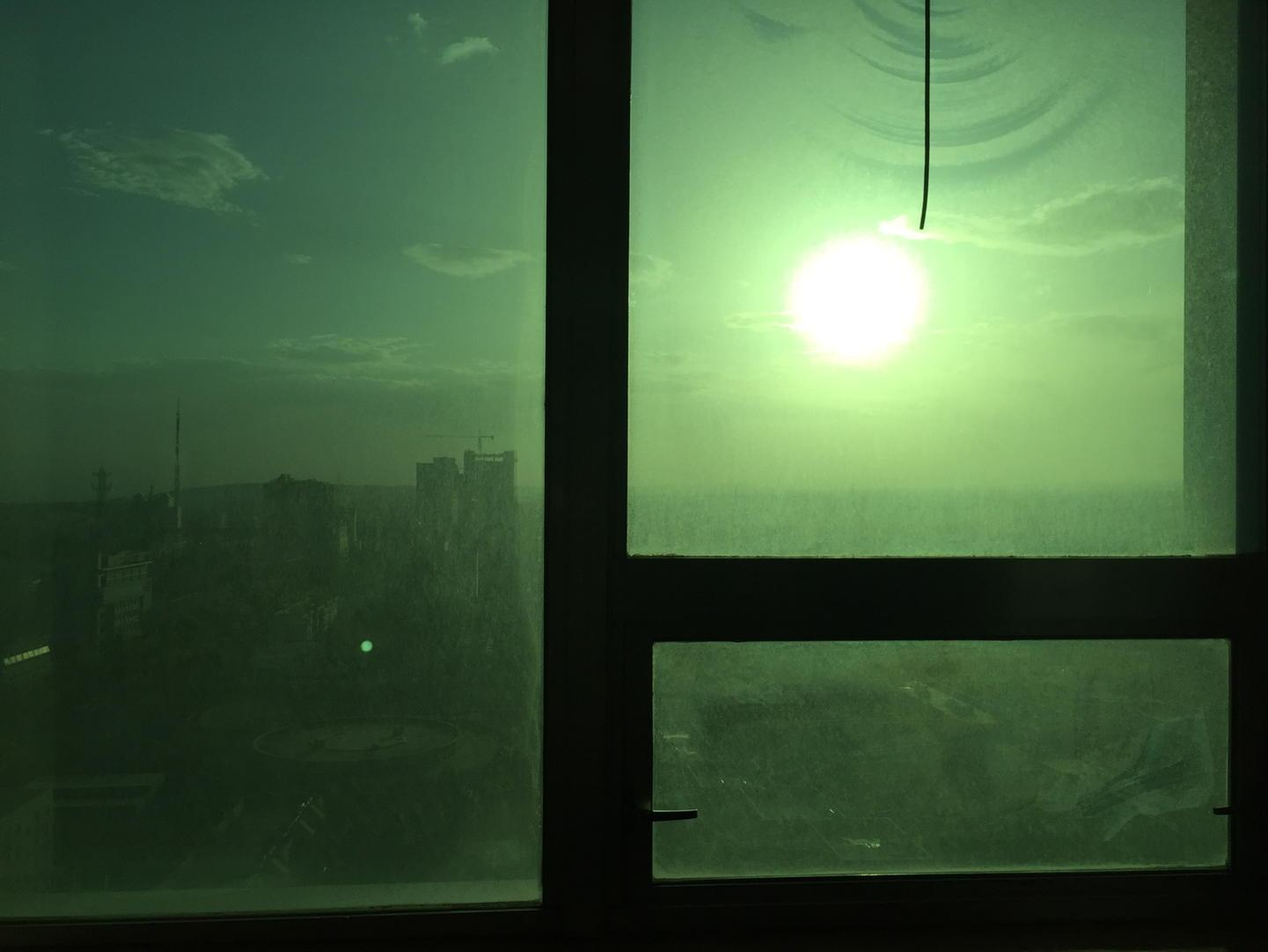 Sunset in Turpan, the hottest place in China. http://t.co/HAjTy3D9pa