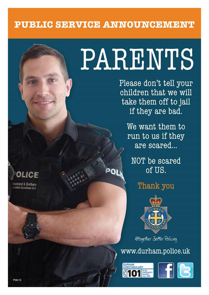 This is a great Police Advert http://t.co/38cbc7ATbG