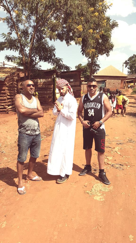 Having such an amazing experience in Uganda with my boys @omgAdamSaleh @Naz_Promotions. #orphanage #africa. http://t.co/ElFcd3gUBB
