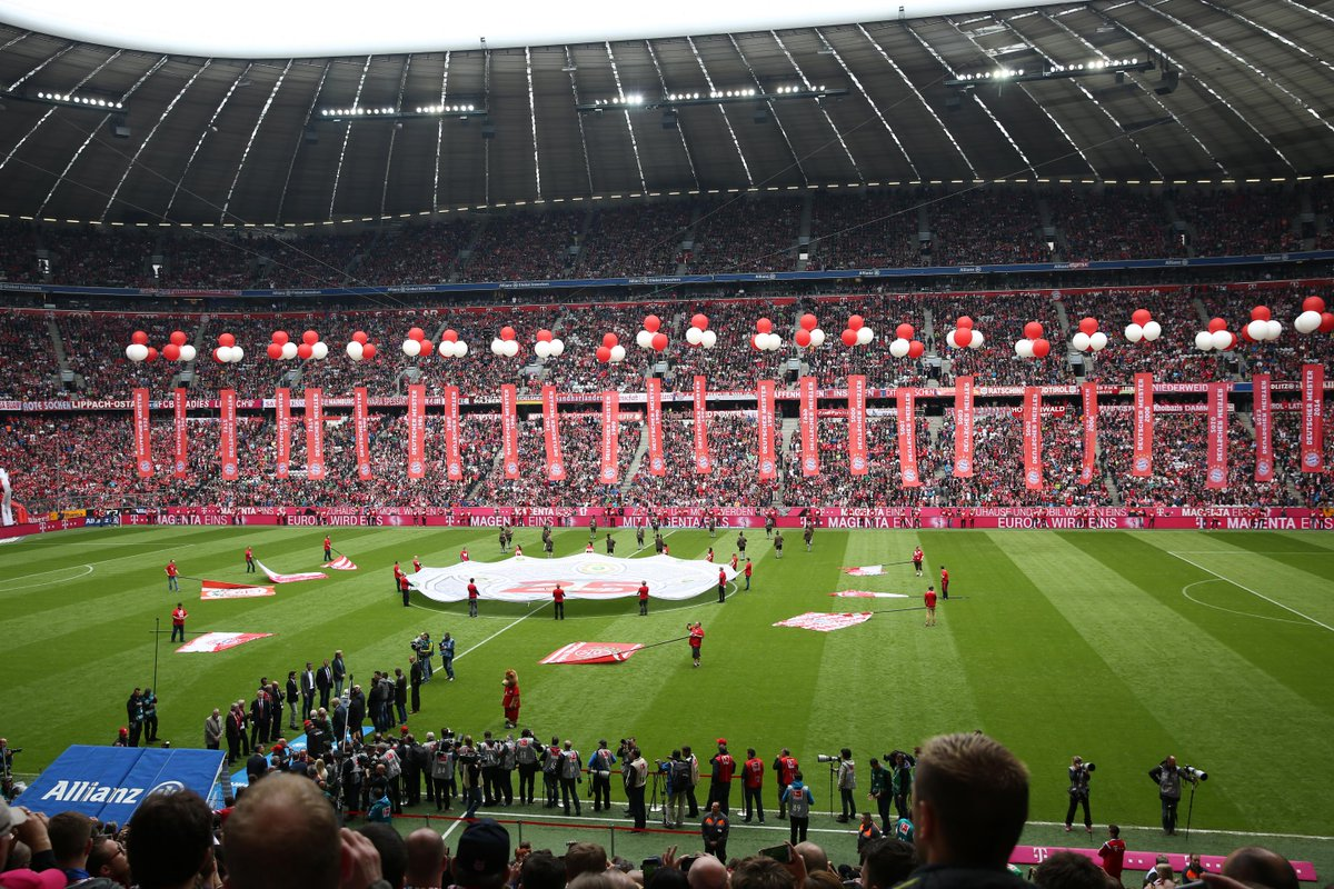 25 League titles fly through the stadium