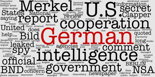 #Germany declines comment on reported 'deep freeze' with U.S. intelligence  #German http://t.co/maer7DyfE7 http://t.co/ZfFHBZqVts