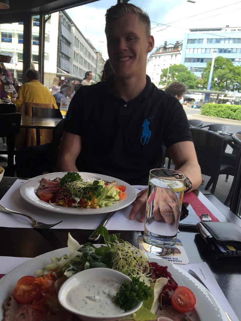 Danish guy is back in town ! @NikolajEhlers24