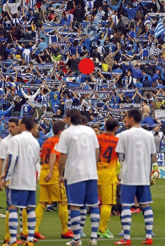 #صورة_تاريخية  جماهير فريق اسبانيول تُدي...