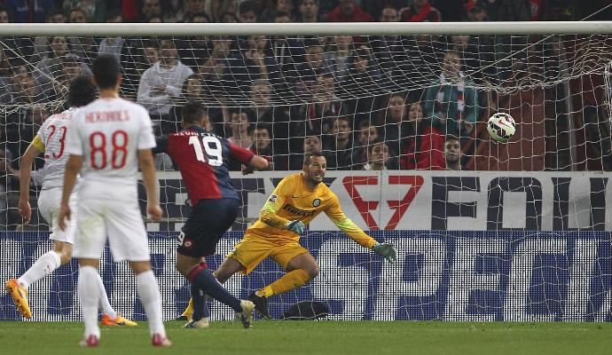 Genoa-Inter 3-2 VIDEO, Kucka gol partita all'89' - Partita del 23 maggio 2015