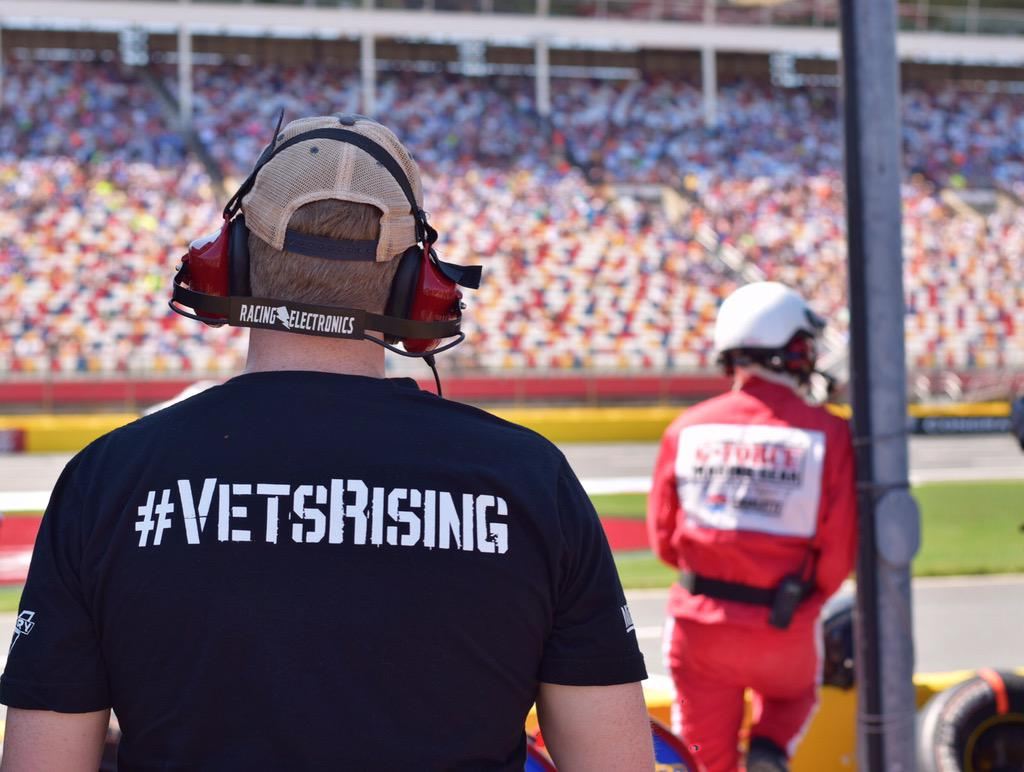 Big thank you to our vets on this Memorial Day weekend! Awesome having @IAVA join us @CLTMotorSpdwy #GoSilent http://t.co/GoobgBa6H5