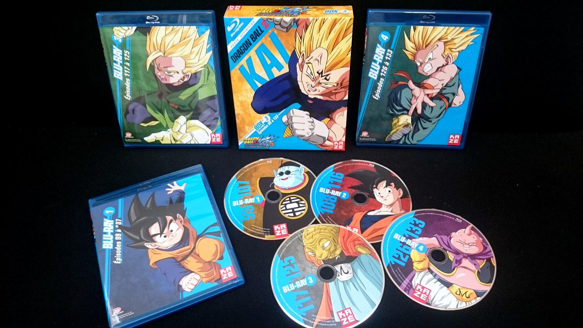 wtk on twitter dragon ball z kai blu ray box 3 eps 99 133 from