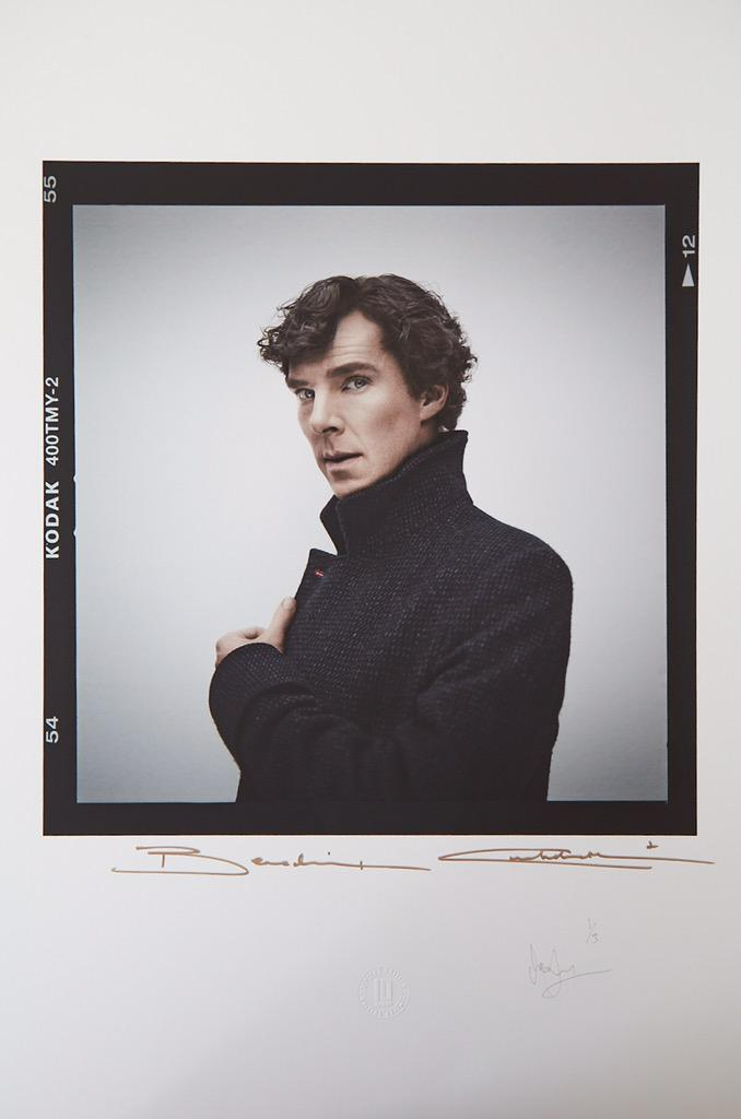 Here's the first edition of the 3rd limited edition #BenedictCumberbatch signed print http://t.co/ntdmwFZWoq http://t.co/JanDZA34dX