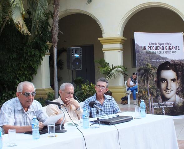 La obra, enfatizó, llega en un momento muy oportuno,  en que está prohibido, más que nunca antes, olvidar la historia de luchas y sacrificios de la nación cubana