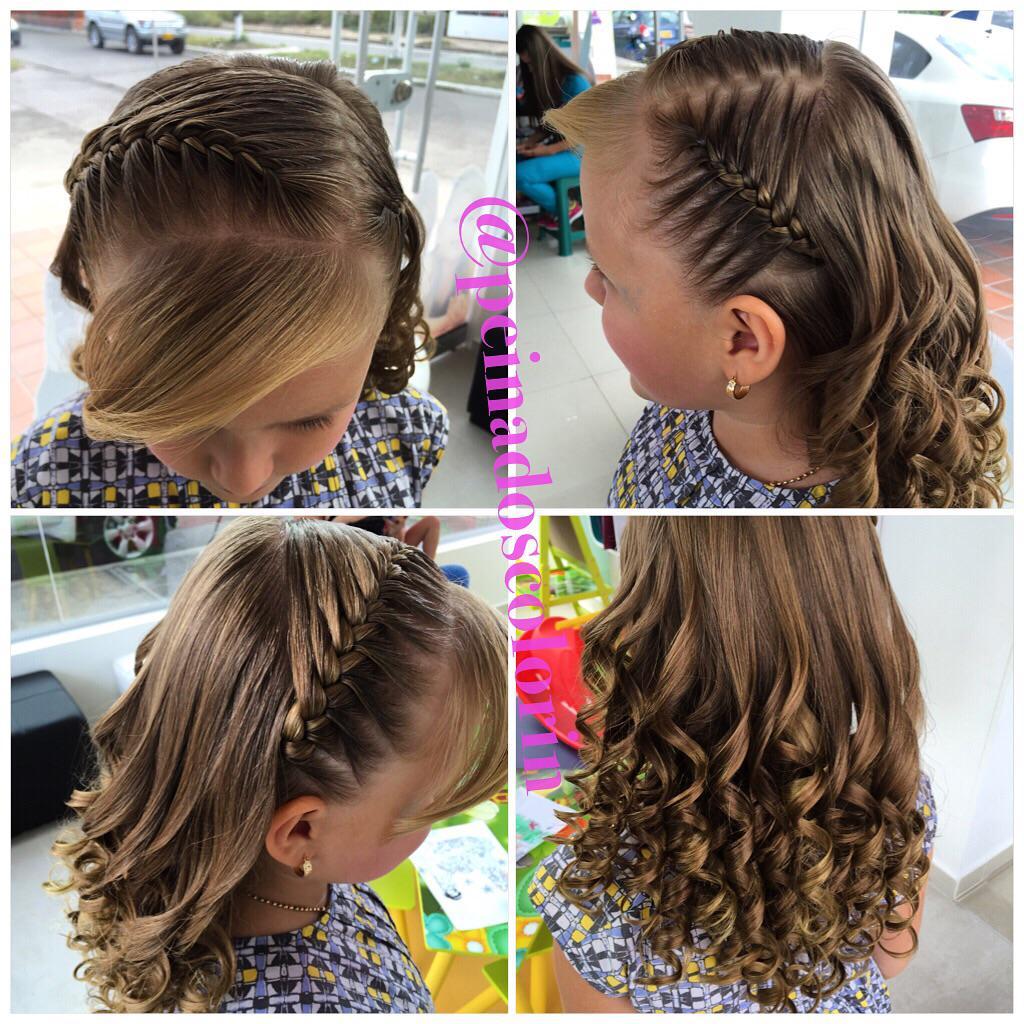 Colorin peluqueria on twitter los mas hermosos peinados - Trenzas para nina faciles ...