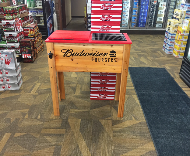 Pipestone As On Twitter Win This Budweiser Coolergrill Raffle