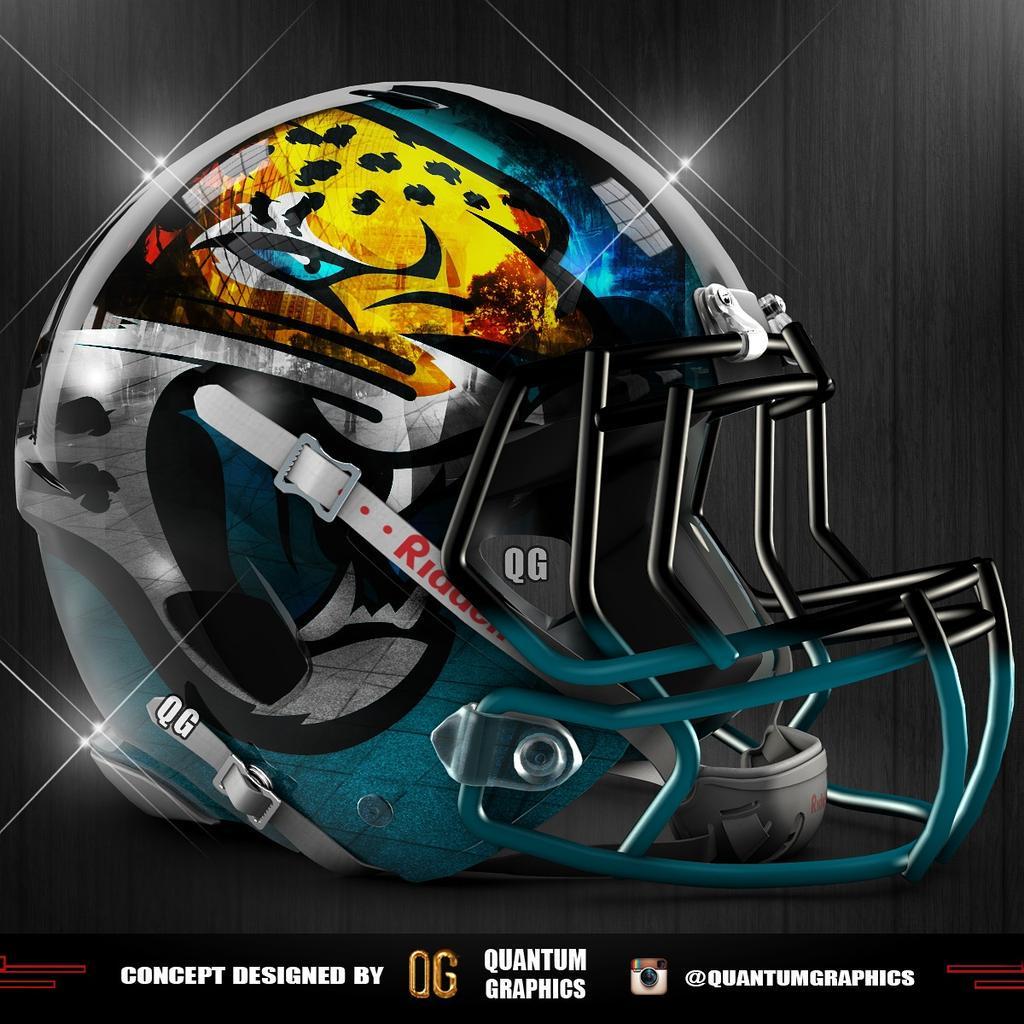 Jaguars New Helmet 2013 Quantum Graphic...