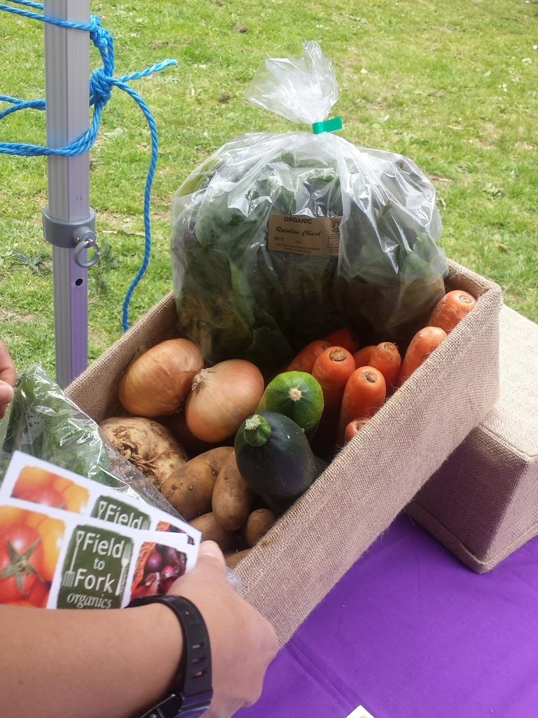 @Field2ForkCoop also at the Roundwood Park. You can get seasonal organic fruit & veg delivered every week. http://t.co/OohaufRTJD