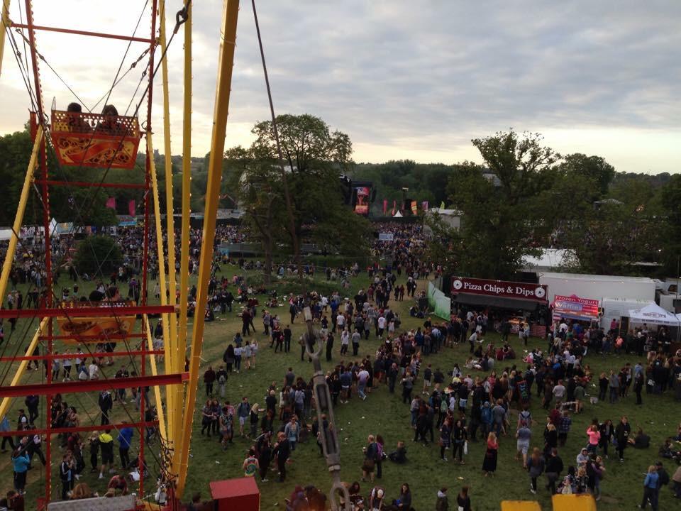 View from up above Earlham Park! #BigWeekend http://t.co/KsKThDgOJV
