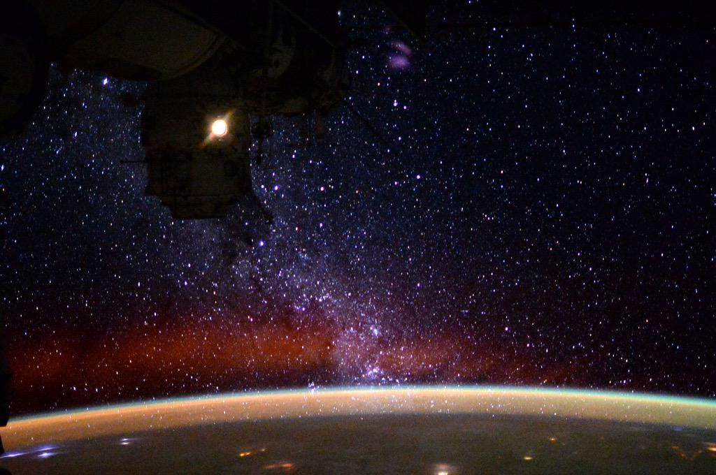 The view of our Galaxy from space.