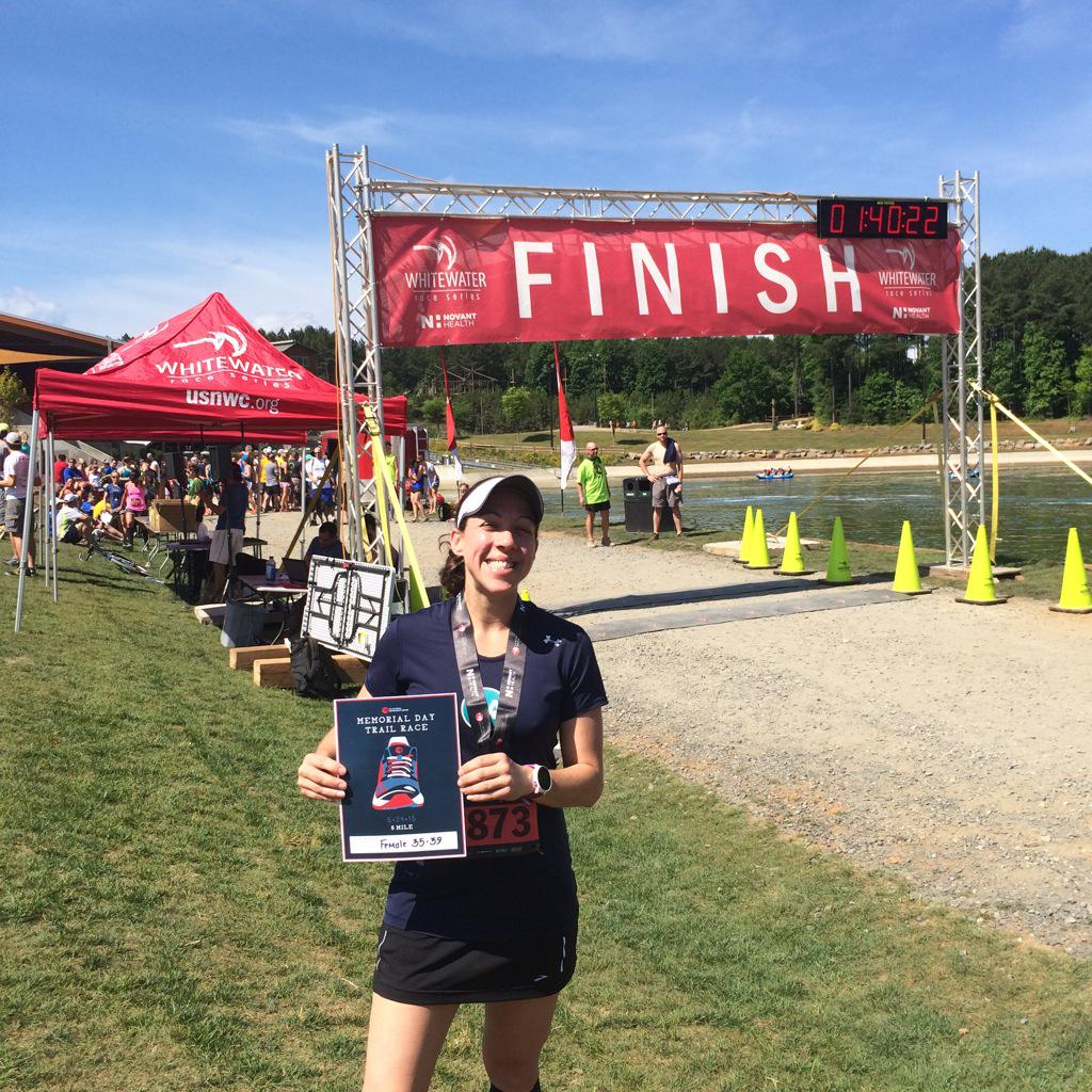 Yay for Suzy Stalker for winning 3rd in her age group at @usnwc #trailrun. And yay for her proxy, Peel! http://t.co/KMuGxyGxFB