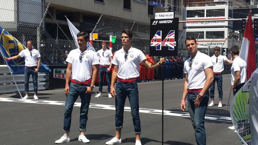 Monaco Grand Prix 2015 grid boys