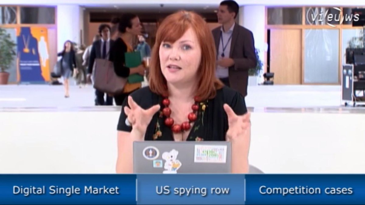 German intelligence aided the #NSA in spying on the Commission | EU Tech Briefing | VIDEO: http://t.co/rTDjS3Du8X http://t.co/4pq9PpGk22