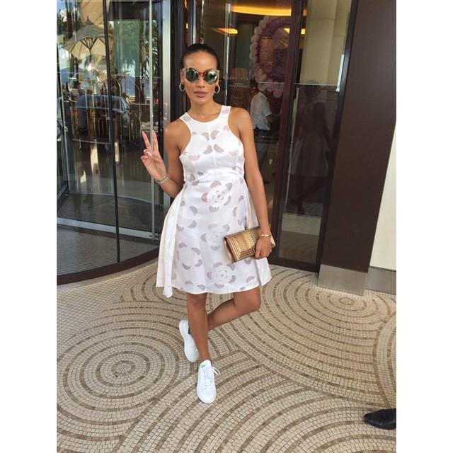 Headed to the races #monaco #f1 #blessed #amberlounge #whiteonfleek @tsemayebinitie love y… http://t.co/bGYtJB7T6P http://t.co/zXE76OwXNW