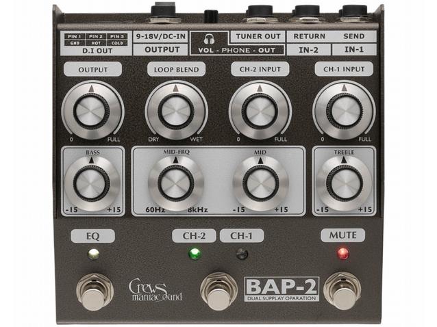 BAP-2 Bass Foot Preamp