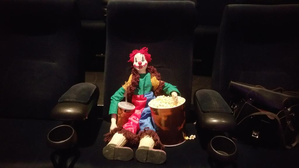 We Took The Poltergeist Clown To See Poltergeist At The Arclight