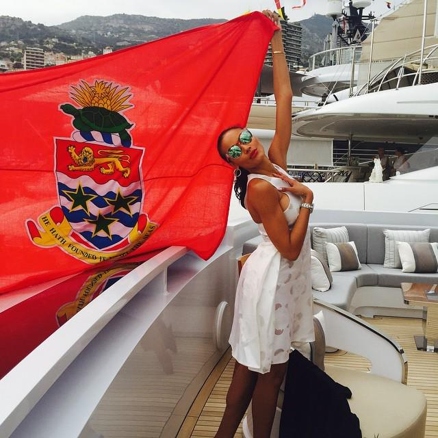 Representing my Love! #345 #AlwaysEveryday @visitcaymanislands #monaco #345 #blessed http://t.co/7pOs5ZGQSM http://t.co/Sc8MXbbO2Q