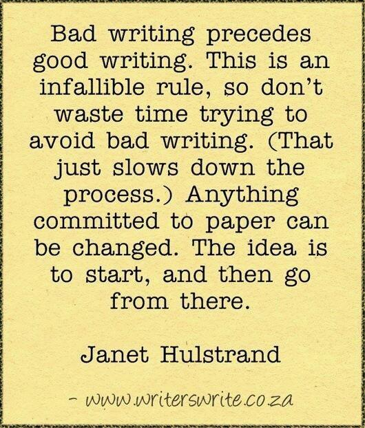 Wise words #amwriting http://t.co/Tef2k5m3J0