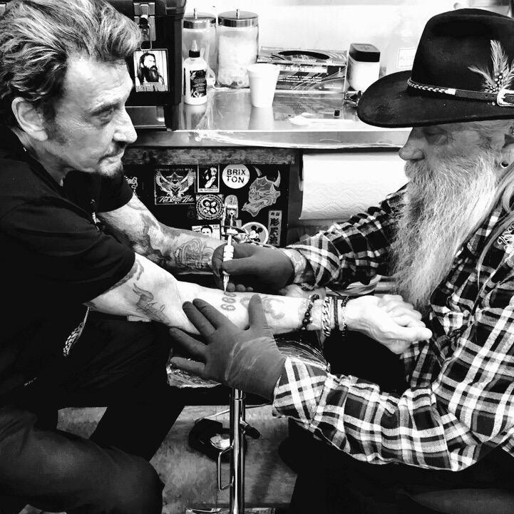 "Jacky Tatouage johnny hallyday on twitter: ""new tattoo #666 👿 @ssc_tattoo"