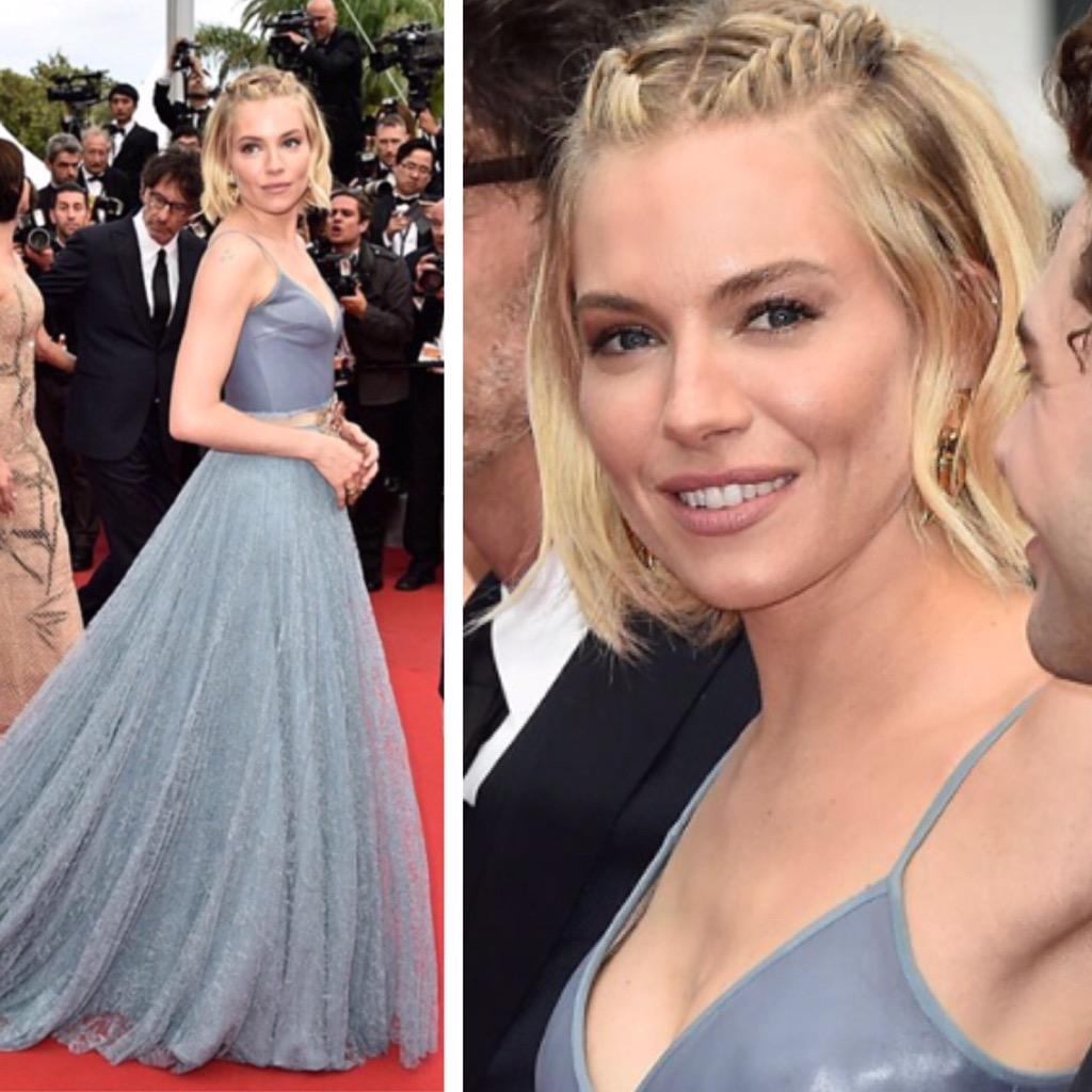 The final look for the gorgeous #SiennaMiller at the #CannesFilmFestival closing ceremony #makeupbycharlottetilbury http://t.co/JiMSLGVTSl