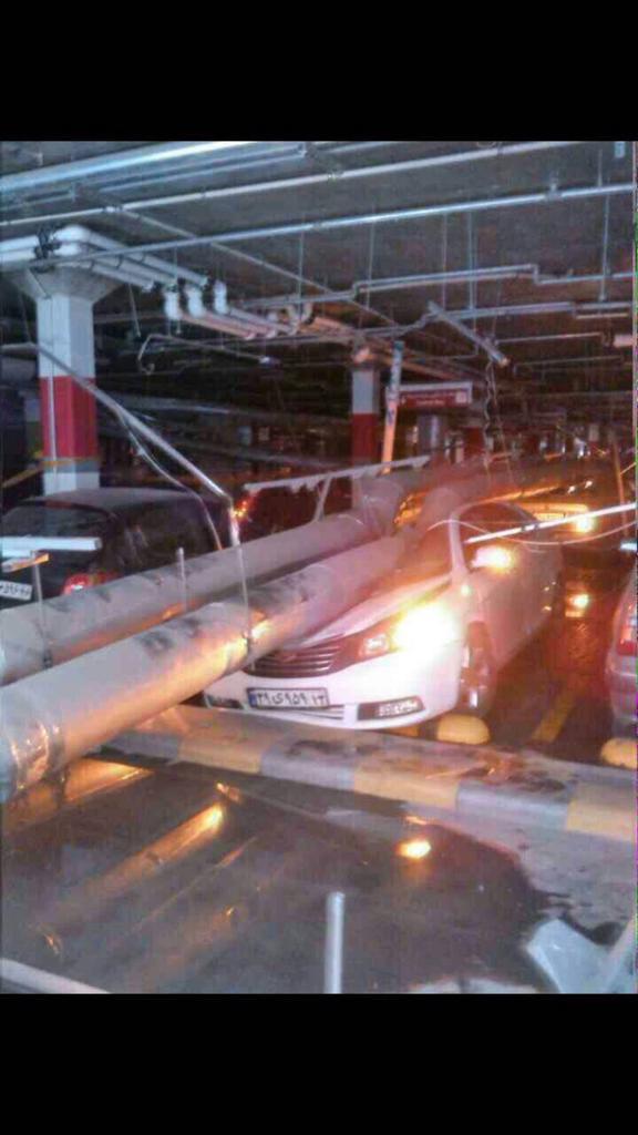 عاجل// إنفجار ضخم يهز مركز تجاري في طهران ... الله اكبر CFzNzrZWoAAZK09