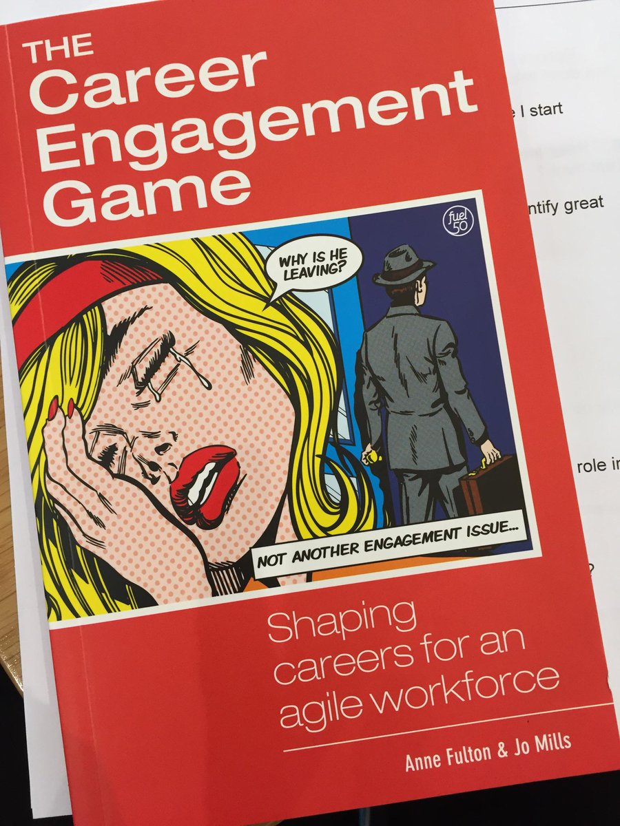 Ann Fulton from Fuel50 literally wrote the book on career engagement #NZ8 cc @NZ_Global http://t.co/Be1FBk8v1P