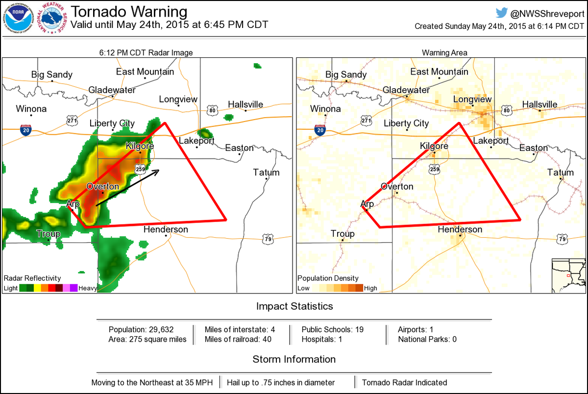 Tornado Warning including Kilgore TX Overton TX London TX CDT ... on odessa texas map, bryson texas map, lindale texas map, jim ned texas map, fort hood texas map, estelline texas map, la coste texas map, dixon texas map, holliday texas map, mt enterprise texas map, spencer texas map, kennard texas map, kilgore tx, justiceburg texas map, jacksonville texas map, iraan texas map, chicago texas map, kildare texas map, new territory texas map, west university place texas map,