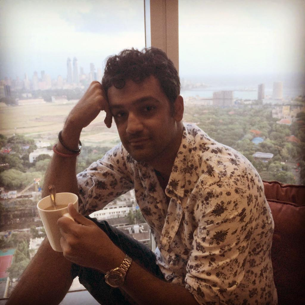 Monsoon clouds, spectacular view and coffee ! My evening at the Executive Suites @stayatpalladium