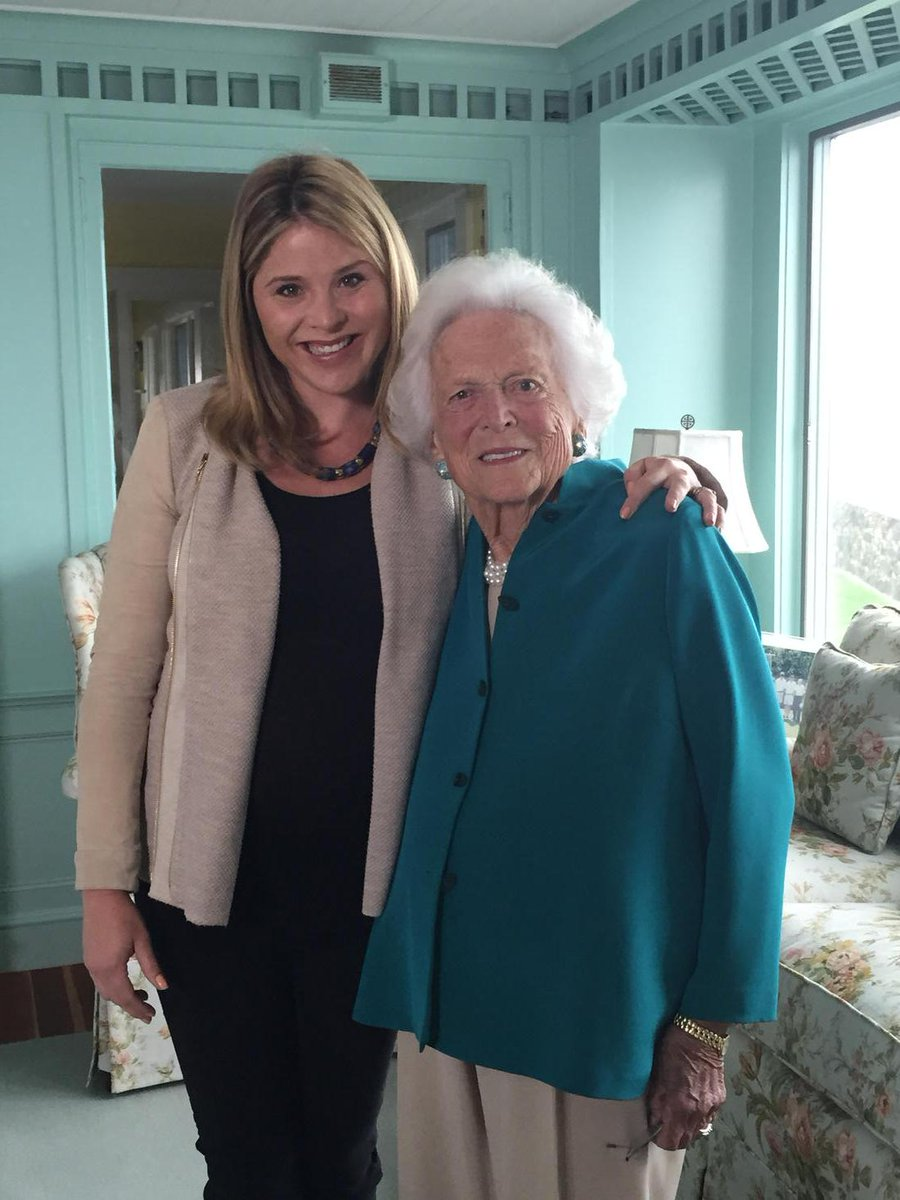 Happy 9-0 to my dearest Ganny--a woman who taught me never to never be afraid to speak my mind. @TODAYshow 8am today http://t.co/os0MAmWhPf