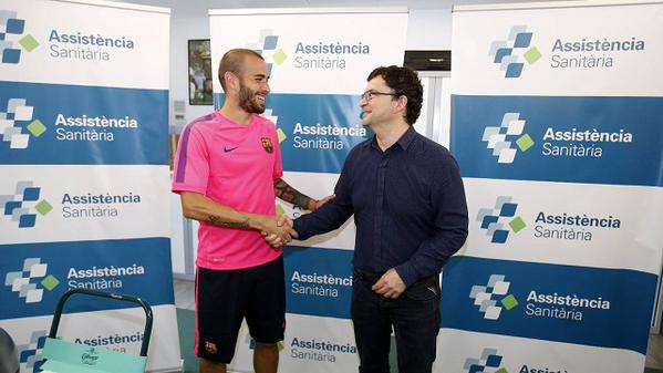 OFFICIAL: Barcelona have confirmed the signing of Aleix Vidal on a 5-year deal from Sevilla after passing a medical.