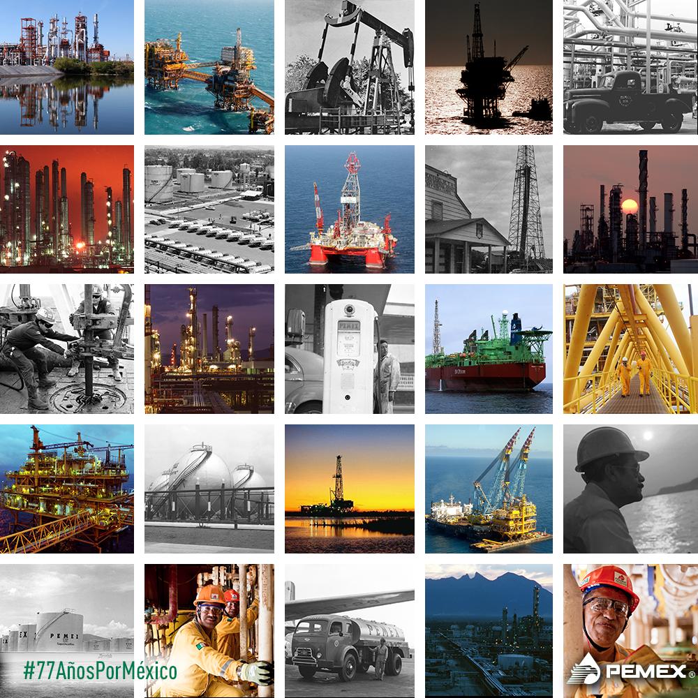 Celebramos el 77 aniversario de la empresa de todos los mexicanos. #77AñosPorMéxico http://t.co/Z4TVeW4Cyh