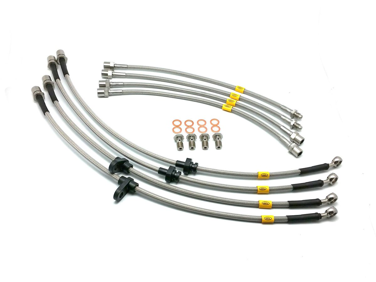 Thumbnail for obp-HEL OEM Motorsport Braided Brake Hoses