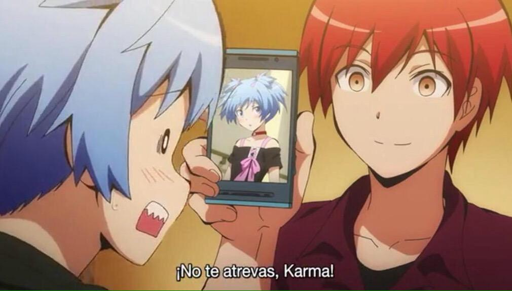 RT Your Anime OTP On Twitter Karma And Bothering An Embarrassed Nagisa Assasination Classroom Translation Dont Dare Tco NdSOuzQ65W