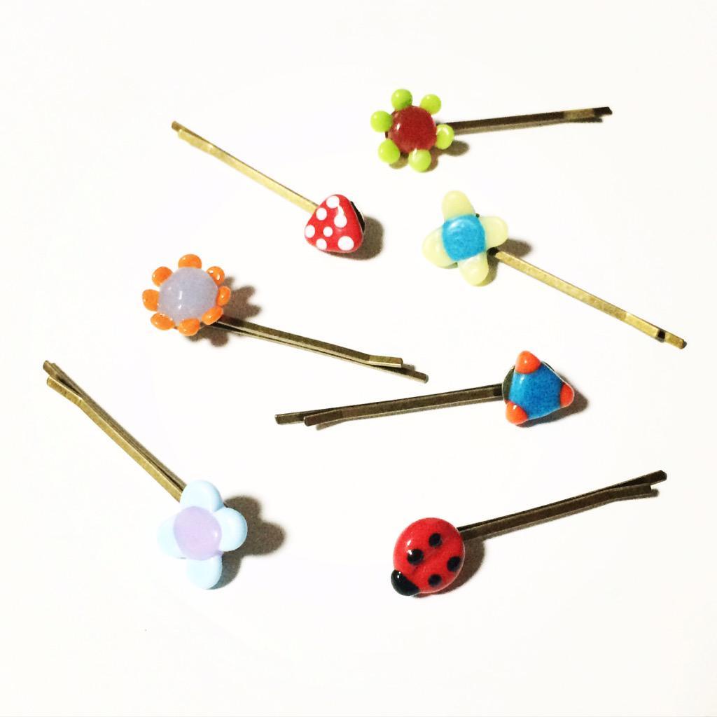キュートなヘアピンを手作りしよう♡おすすめ素材3選♪