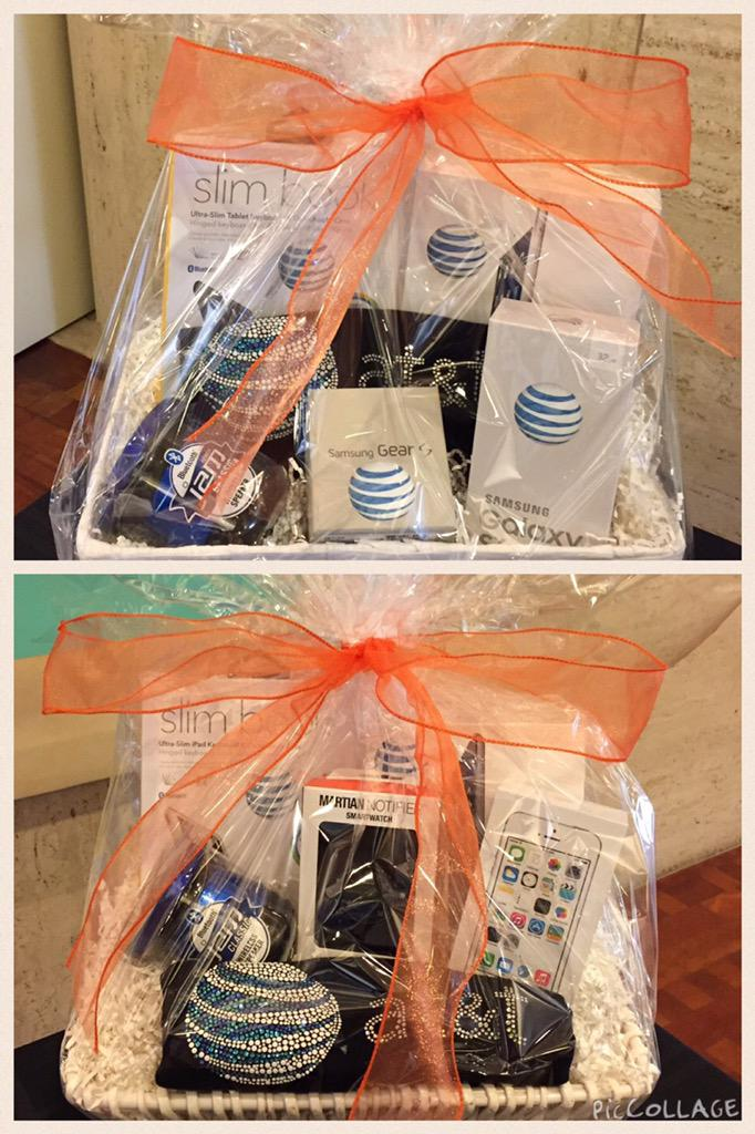 Stop by and enter for a chance to win an AT&T tech gift basket at the @NAHJ_LA #LatinCon regional conference! http://t.co/SKMXecgU1n