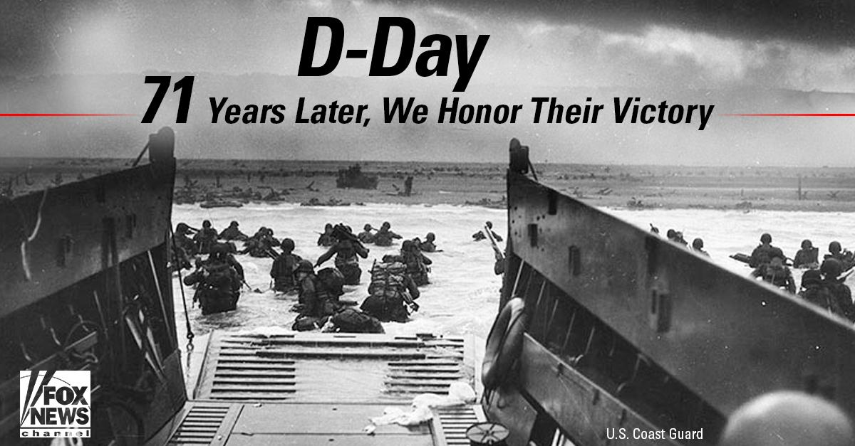 We remember, and give thanks. #DDay