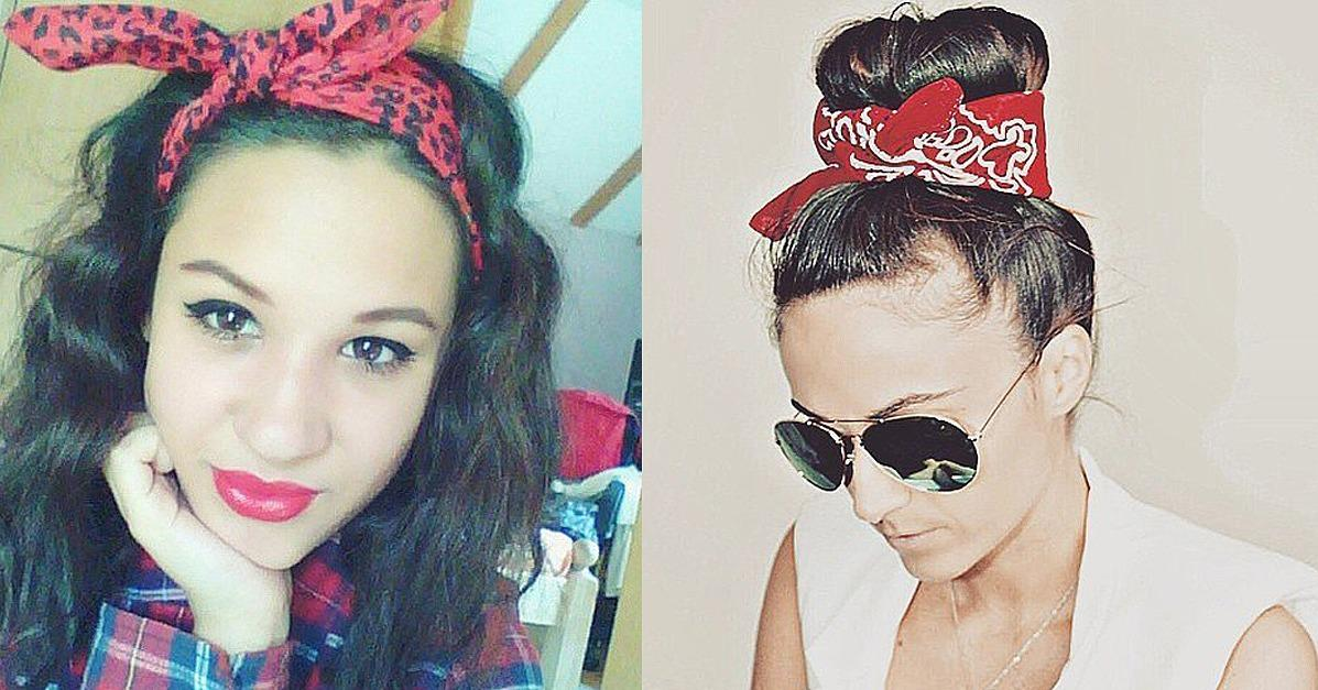 18 Real Girls Show The Cutest Ways To Wear Bandanas In Your Hair