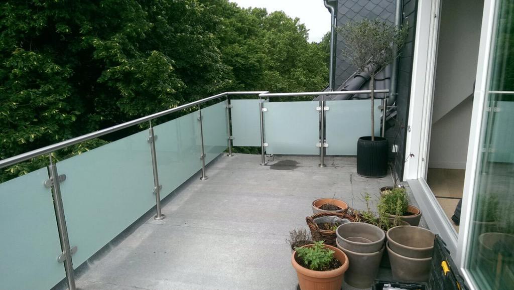 geländer für terrassen modell b1gelanderkit.de. modern geländer ...