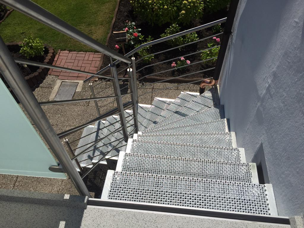 Ng Metall Design On Twitter Terrasse Mit Treppe Http T Co