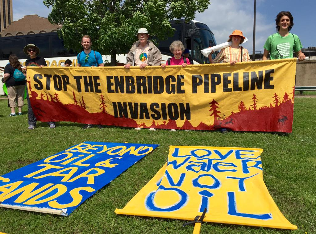 Stop the @Enbridge pipeline invasion. #StopTarSands #BeyondOil http://t.co/8T2kbLVBkh