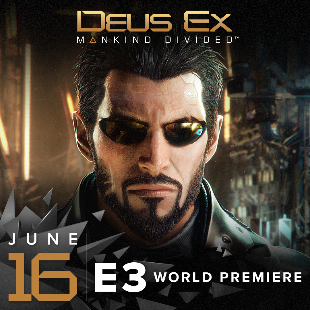Deus Ex: Mankind Divided Gameplay Will Be Showcased At E3