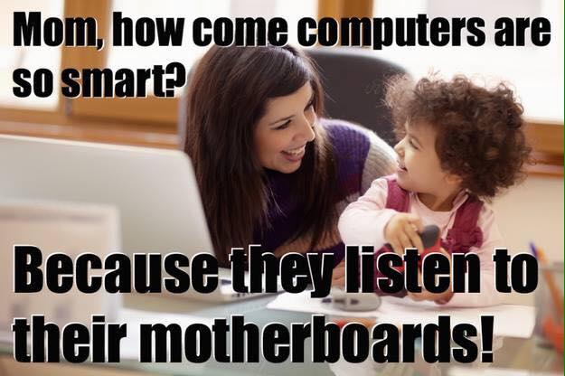 Mom, how come computers are so smart... http://t.co/5VT8AZPVMa