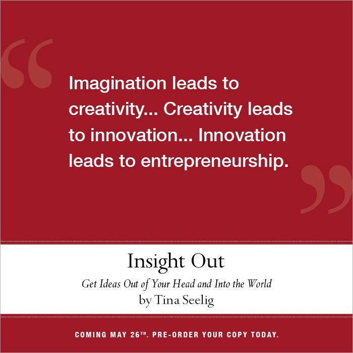 insight out get ideas out of your head and into the world